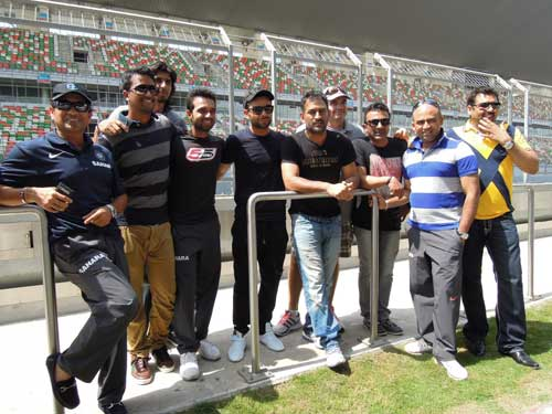 Dhoni and Sachin have the feel of F1 track