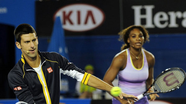 Djokovic, Serena named World Champions for 2014