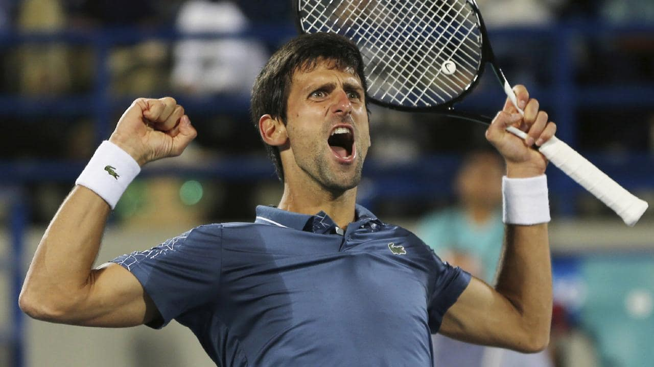 Djokovic leads ATP rankings