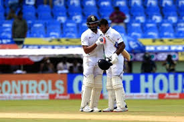 Vizag Test: Rohit, Mayank pile misery on lack-lustre SA
