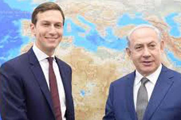Jared Kushner meets Netanyahu in Israel