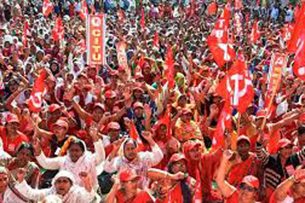 General strike would be complete in the state: trade unions