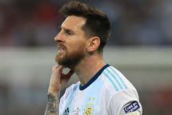 Messi handed fine, one-match suspension