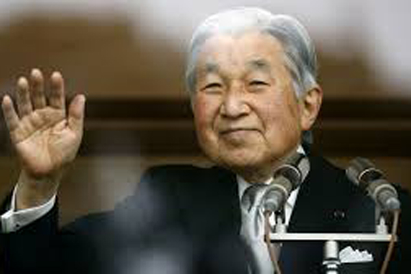 Japans Emperor to abdicate throne for the first time in 2 centuries today