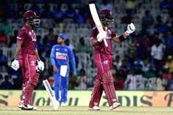 WI beat India by 8 wickets in 1st ODI, Hetmyer, Hope hit tons