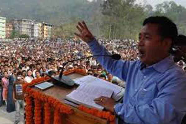 P.S. Golay sworn in as Sikkim chief minister