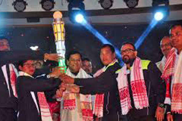 Sonowal launches torch relay of Khelo India Youth Games