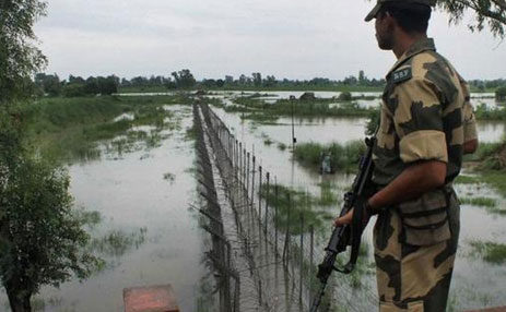 Centre sanctions Rs 21 crore for flood-hit J&K fence, BSF posts