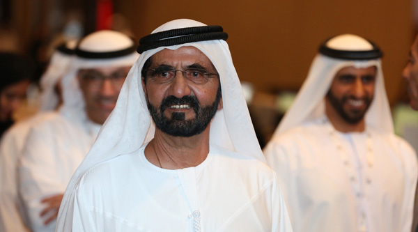 Sheikh Mohammed most liked GCC leader on Facebook
