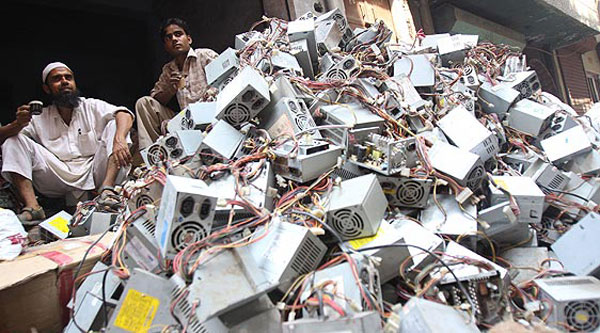 Indian e-waste market to overtake China