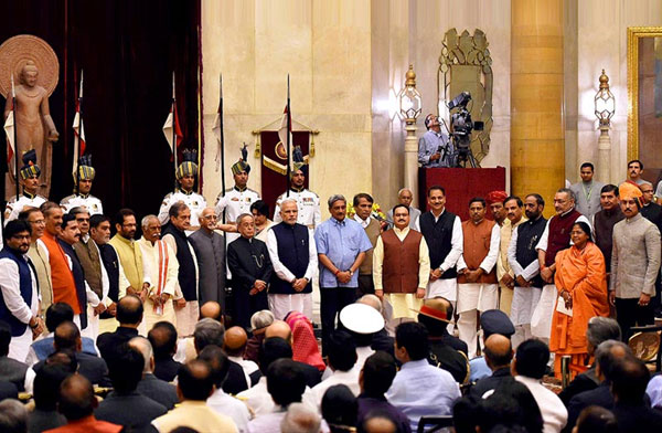 Modi expands cabinet, inducts 21