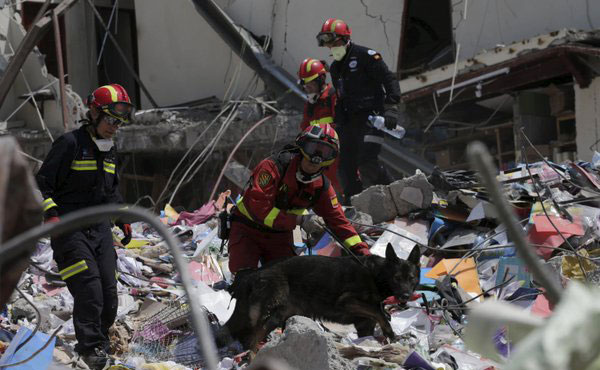 72-year-old rescued 13 days after Ecuador quake