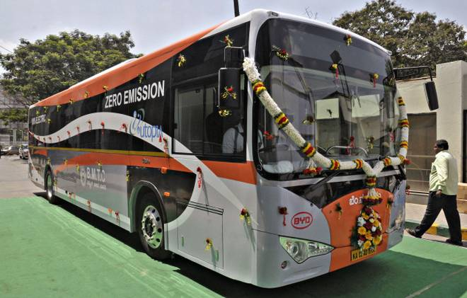 Karnataka to run electric-battery buses in Bengaluru