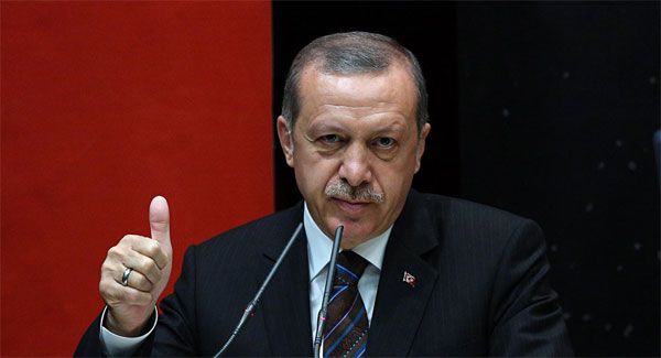 Erdogan slams opposition as justice march nears Istanbul