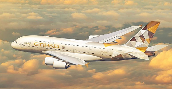 Etihad to add daily flight connecting Abu Dhabhi to Thiruvananthapuram just for May
