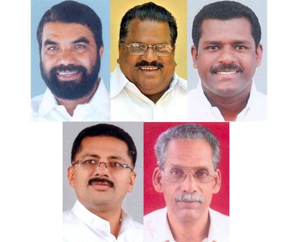 Five LDF MLAs suspended; House adjourns amidst protest