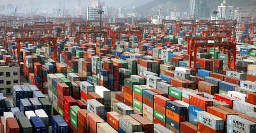 Exports plunges by 34.57 pc in March, 4.78 pc in FY20