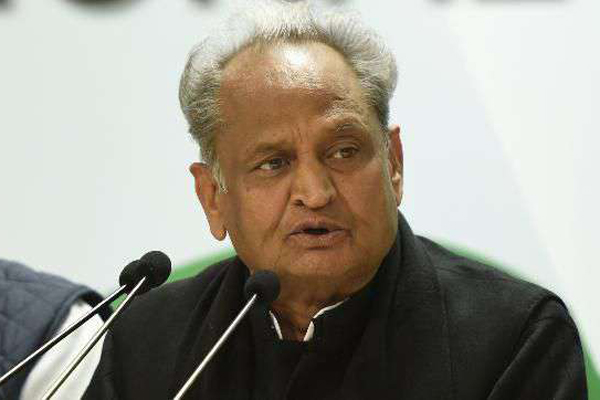 Modi playing politics over air strike: Ashok Gehlot