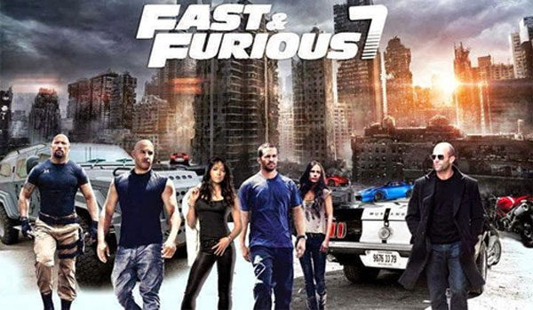 Fast and Furious 7 to release in India April 2