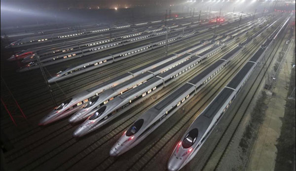 China to launch world's fastest train in September