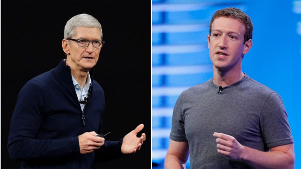 User-data leak: Facebook's Mark Zuckerberg hits back at Apple's Tim Cook