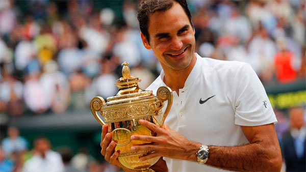 Federer wins record 8th Wimbledon as Cilic bid ends in tears