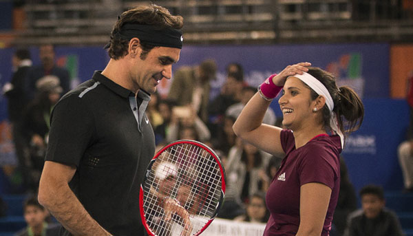 Honoured to have played with Federer, says Sania