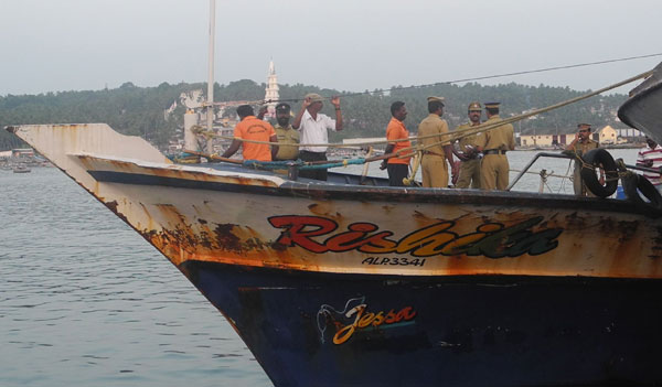 Two fishermen hurt in firing in sea