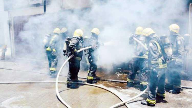 Major fire erupts at shop in Thiruvananthapuram