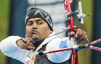 Indian mens team wins compound archery gold