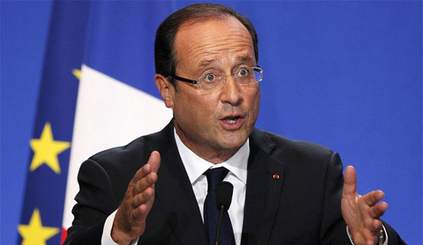 Hollande says sanctions on Russia should be lifted