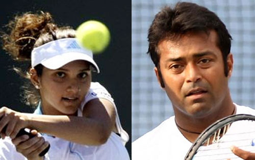 Sania impresses in US Open, end of road for Paes