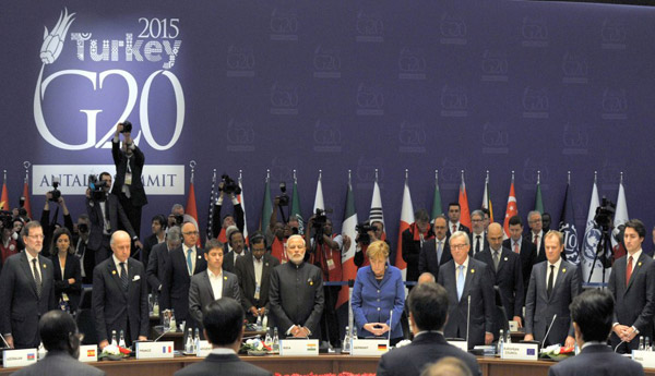 G20 leaders vow joint action against terrorism