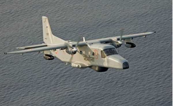 Navy surveillance aircraft crashes in Goa; two missing