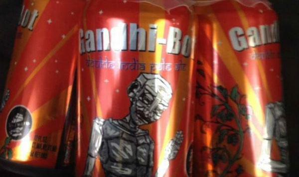 US brewery removes Gandhis name from beer brand