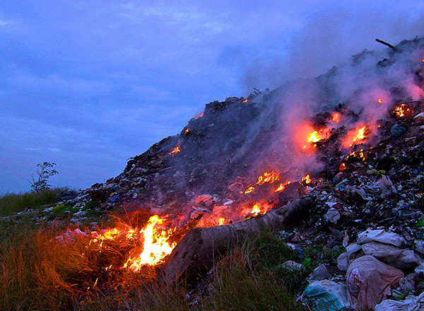 Burning garbage has more health effects than previously estimated