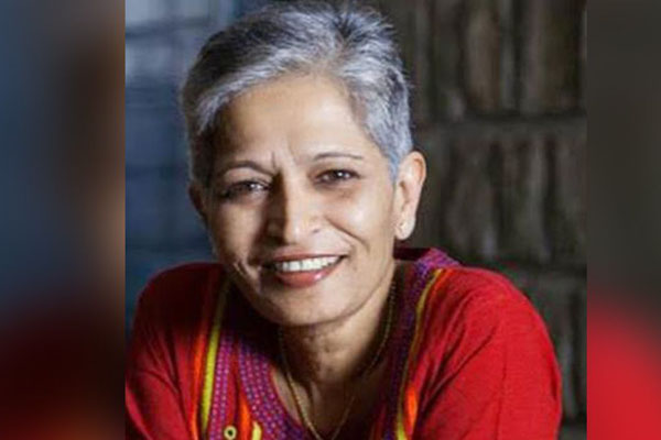 SIT files additional charge sheet in Lankesh killing, names Hindu outfit