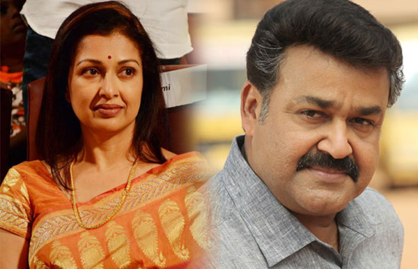 Mohanlal, Gauthami team up for a trilingual