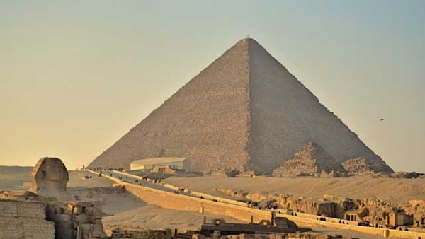 The Great Pyramid of Giza is not perfectly built!