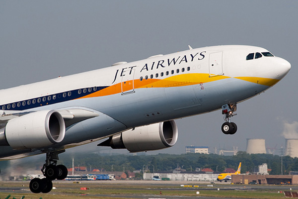 Jet Airways flight lands on fuel emergency; pilots suspended