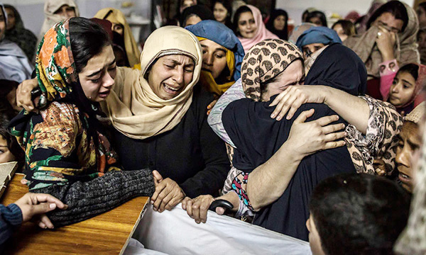 Pakistan awards death penalty to six for Peshawar school attack