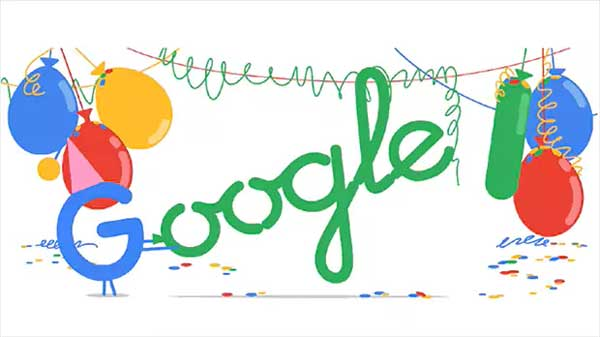 Amid date confusion, Google celebrates 18th birthday with Doodle