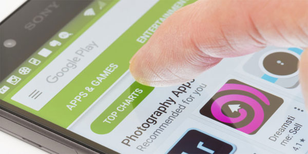 Google Play Store to rank apps based on performance