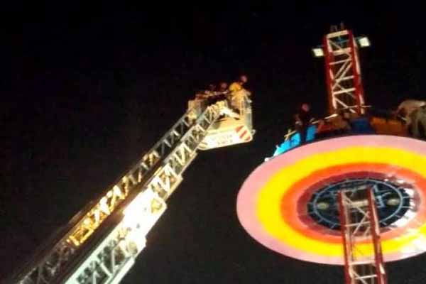 14 children among 40 rescued from tall merry-go-round in Ahmedabad