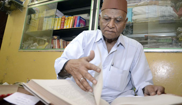 A Muslim scholar with a passion for Sanskrit