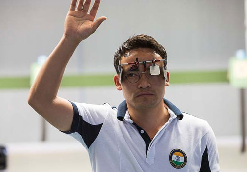 Jitu Rai gives India first gold from Asian Games