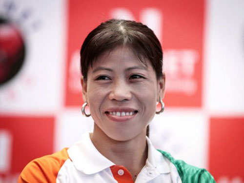 Mary Kom in Asiad boxing semis