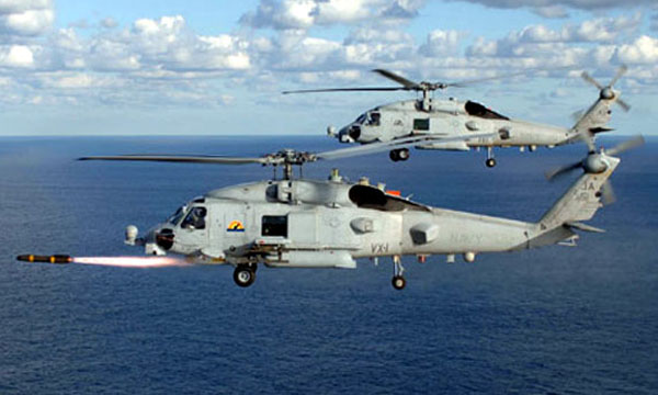 India seeks MH 60 Romeo Seahawk helicopters from US