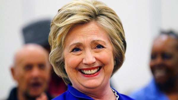 Democratic Party unanimously nominates Clinton for president - a first for women