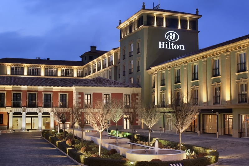 Smart phones to replace room keys at Hilton hotels